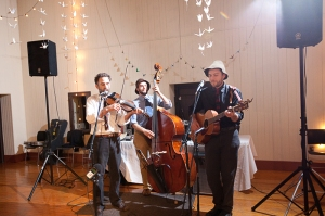 With Zach Fay, performing at a private event in Germantown
